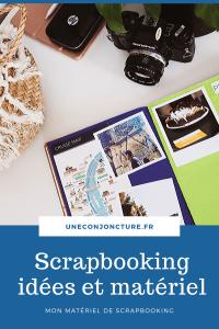 matériel pour scrapbooking