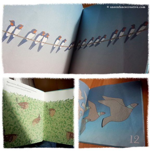 Extraits du livre Combien d'oiseaux ?