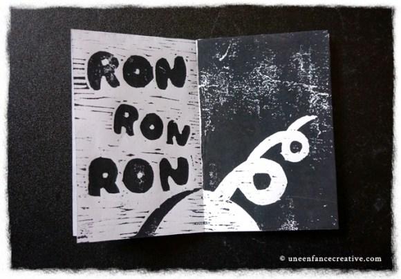 Résultat livre gravure bois - ron ron ron