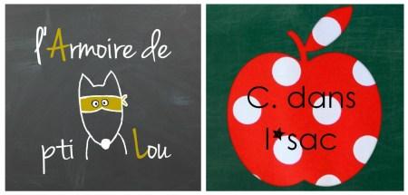 Logos Armoire de Pti Lou et C dans l'sac