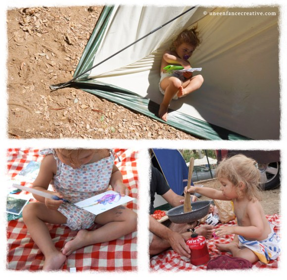 Vacances en camping avec son bébé
