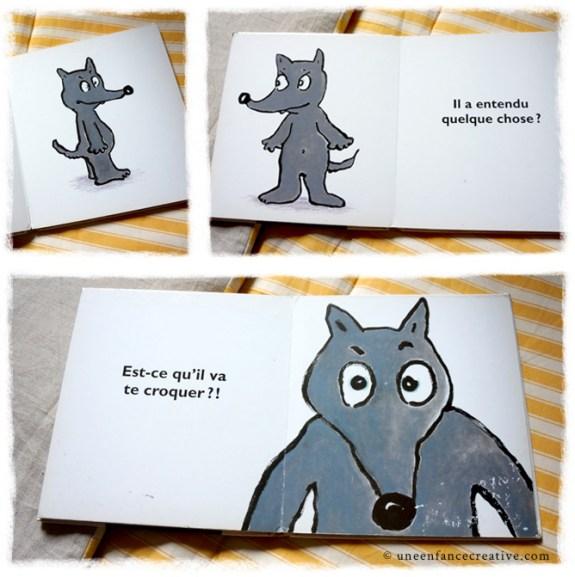 Extraits livre Qui a vu le loup ?