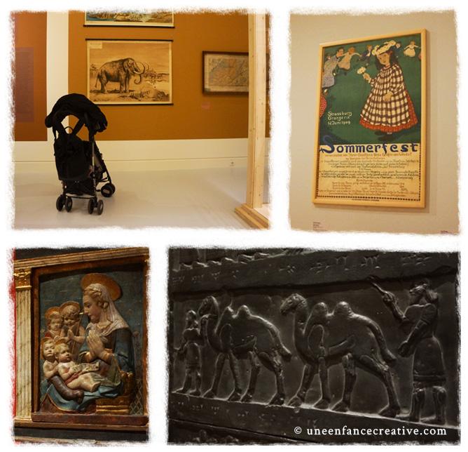 Musée Art moderne et contemporain Strasbourg avec enfant