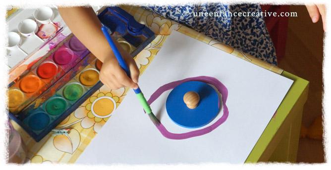Peindre cercle