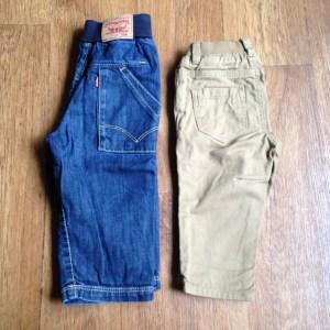 Jeans Levis baby & h&m