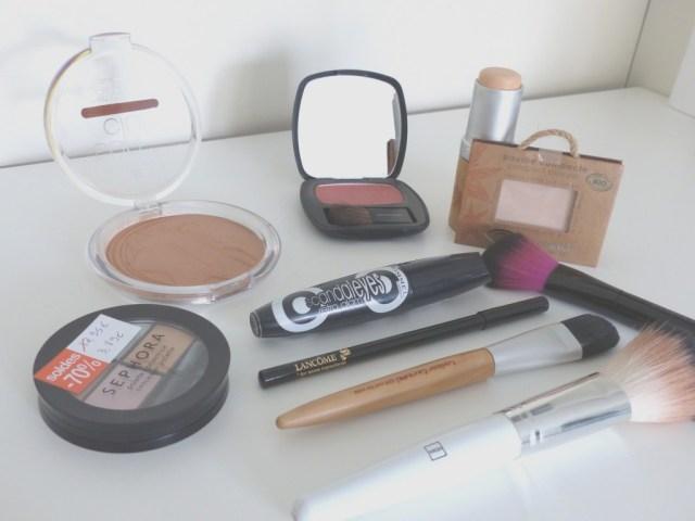 Produit makeup maternité