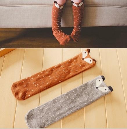 Chaussettes renard
