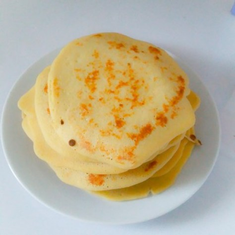 pancakes healthy sans gluten et sans lait