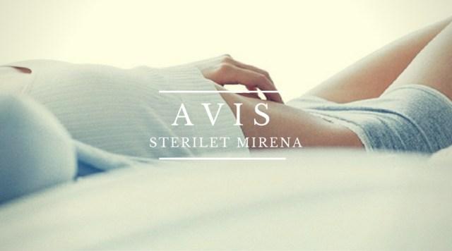 AVIS stérilet Miréna