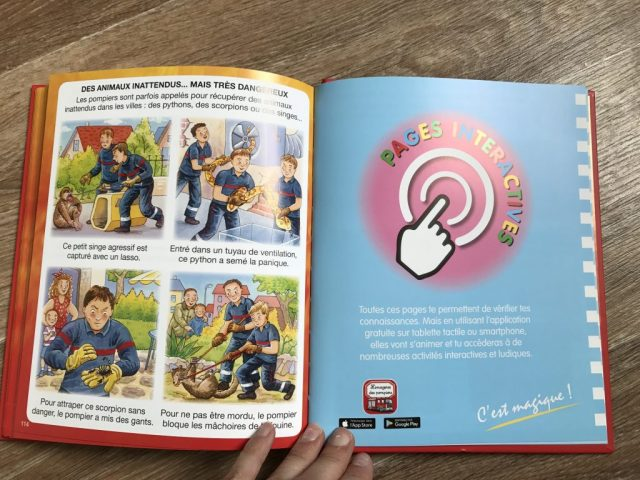 Les pompiers aux éditions fleurus