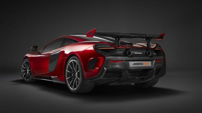 McLaren MSO HS Arrière