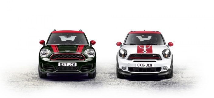 mini-john-cooper-works-countryman-blanc-vert-face-avant