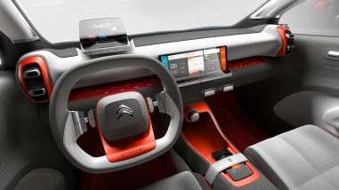 Citroën C-Aircross Concept intérieur
