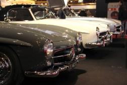 Trio de Mercedes Rétromobile