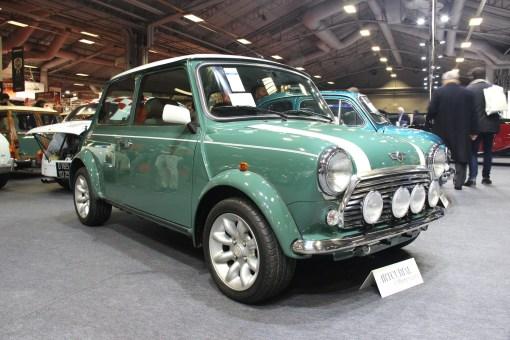 Rover Mini Cooper Série Spéciale 35e Anniversaire Artcurial Rétromobile