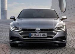 Volkswagen Arteon face avant gris