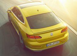 Volkswagen Arteon r-line jaune arrière