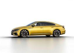 Volkswagen Arteon studio r-line profil jaune