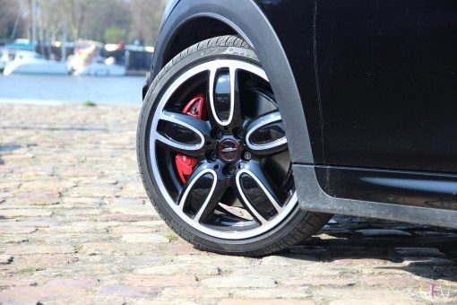 Mini John Cooper Works Cabrio jante étrier frein