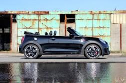 Mini John Cooper Works Cabrio profil