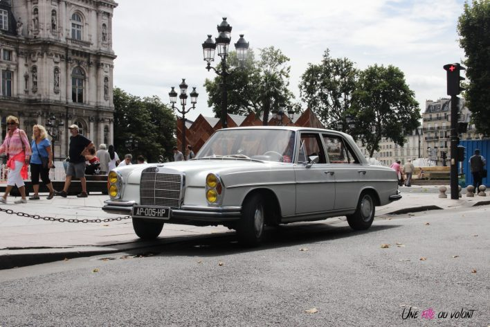 Mercedes 280 SE Paris Balade