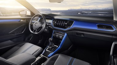 Volkswagen T-Roc 2017 intérieur