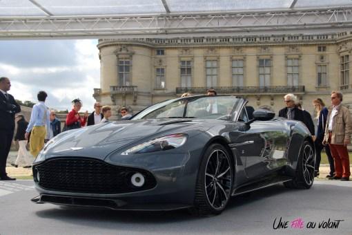 Aston Martin Vanquish Volante Zagato Chantilly Arts & Elégance 2017