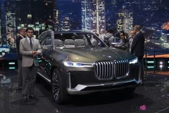 BMW X7 iPerformance Concept Francfort 2017