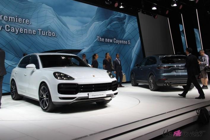Porsche Cayenne Francfort 2017