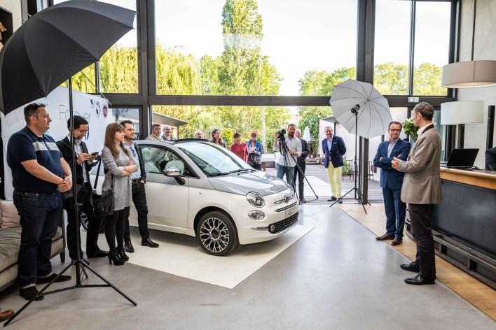 Fiat 500 Collezione 2018 Paris