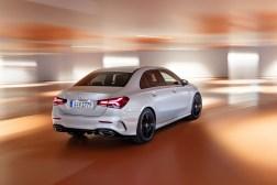 Mercedes Classe A berline 2018 arrière feux dynamique
