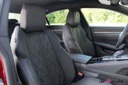 Essai Peugeot 508 sièges avant EAT8