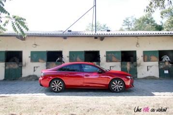 Peugeot 508 GT Line PureTech 180 EAT8 profil statique jantes 18 pouces