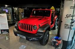 Exposition Jeep Around MotorVillage Wrangler Rubicon