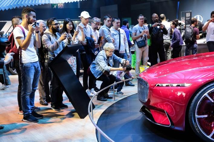 Mondial de Paris Vision Mercedes-Maybach 6