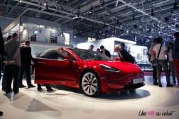Tesla Model 3 Mondial auto Paris 2018