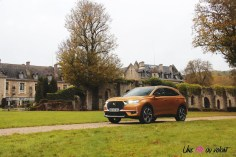 DS 7 Crossback 2018 or byzantin calandre