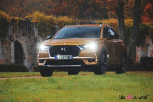 DS 7 Crossback 2018 avant roues profil or byzantin