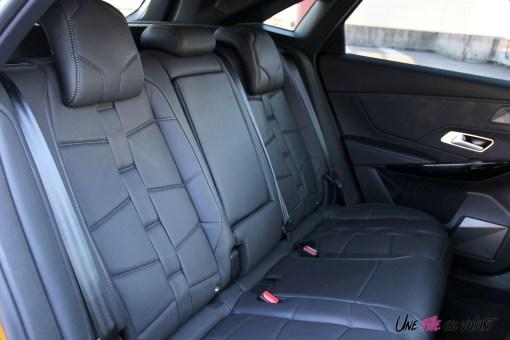DS 7 Crossback 2018 banquette arrière cuir sièges