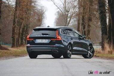 Volvo V60 arrière profil jantes feux