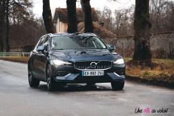 Volvo V60 dynamique roues calandre logo break
