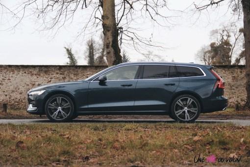 Volvo V60 profil break empattement