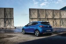 Renault Clio 5 arrière jantes bleu feux