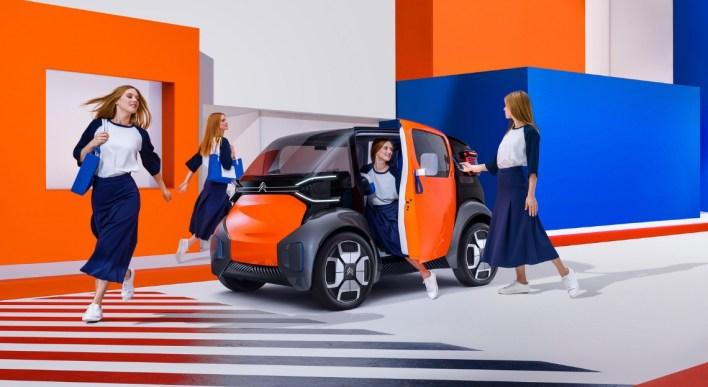 Citroën Ami One Concept statique avant électrique Genève