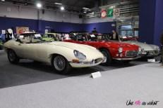 Jaguar Type E Rétromobile 2019