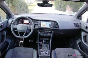 Cupra Ateca intérieur écran sièges volant