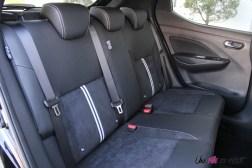 Nissan Micra N-Sport banquette arrière