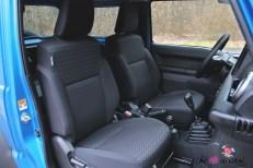 Suzuki Jimny sièges avant intérieur