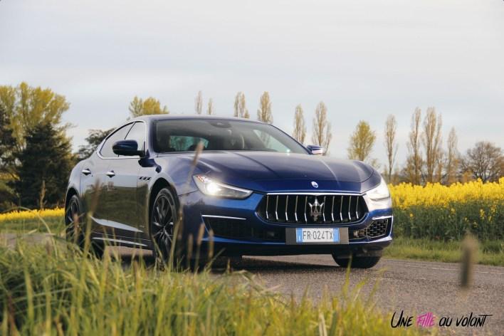 Maserati Ghibli 2019 calandre jantes feux