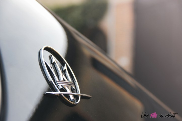Maserati Ghibli 2019 détail logo